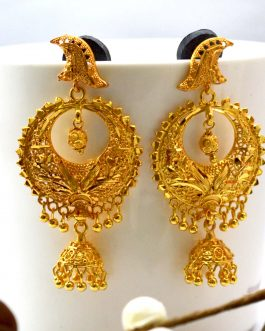 Gold Plated Ramleela Designed Earrings For Women
