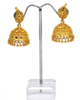 24K Gold Plated New Design Pinjada Earrings For Women
