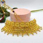 Gold Plated Drop Tasseled Adju...