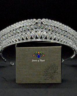 Stunning Bridal Princess Shiny Tiara Crown/Hair Embellishment For Women