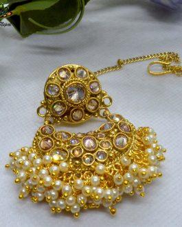 Cz Stones Studded High Gold Ra...