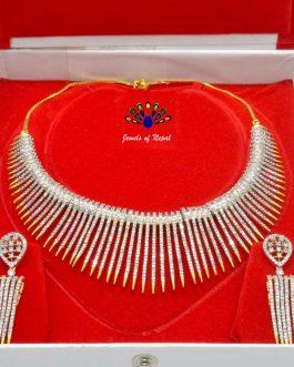 American Diamond Studded Tasse...