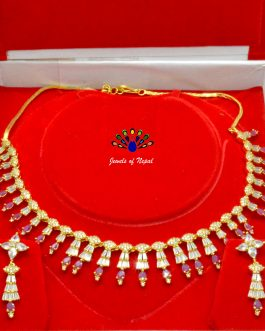 American Diamond & Faux Ru...