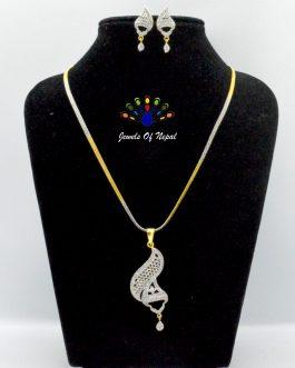American Diamond Embellished J...