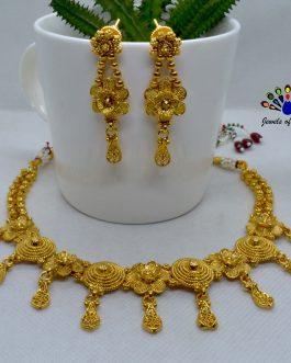 High Gold Circular Flower Desi...