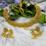 High Gold Faux Moti & Ston...