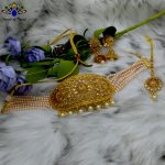 High Gold Faux Moti And Kundan...