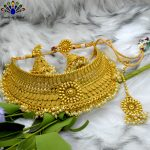 High Gold Polished Faux Moti B...