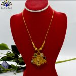 Gold Plated Peacock Designed F...