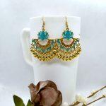 Golden Antique Style Lotus Des...