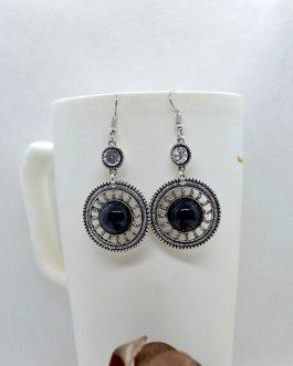 Silver/Multicolored Circular S...