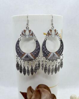 Lotus Designed Drop Earrings F...