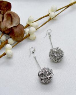 Silver Drop Earrings For Women