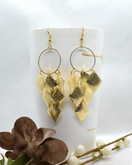 Golden/Silver Leaf Drop Chande...