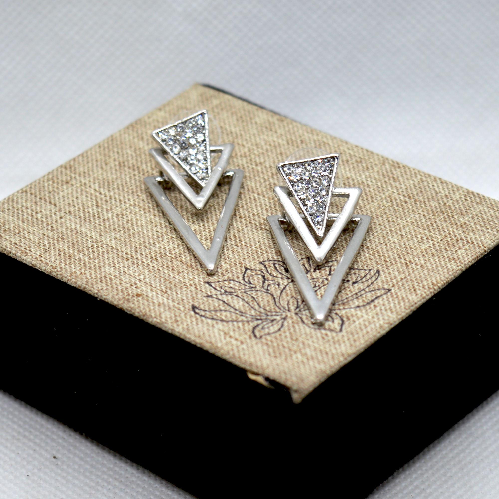 Silver Stoned Boho Style Tripp...