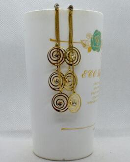 Golden/Silver Round Drop Chain...