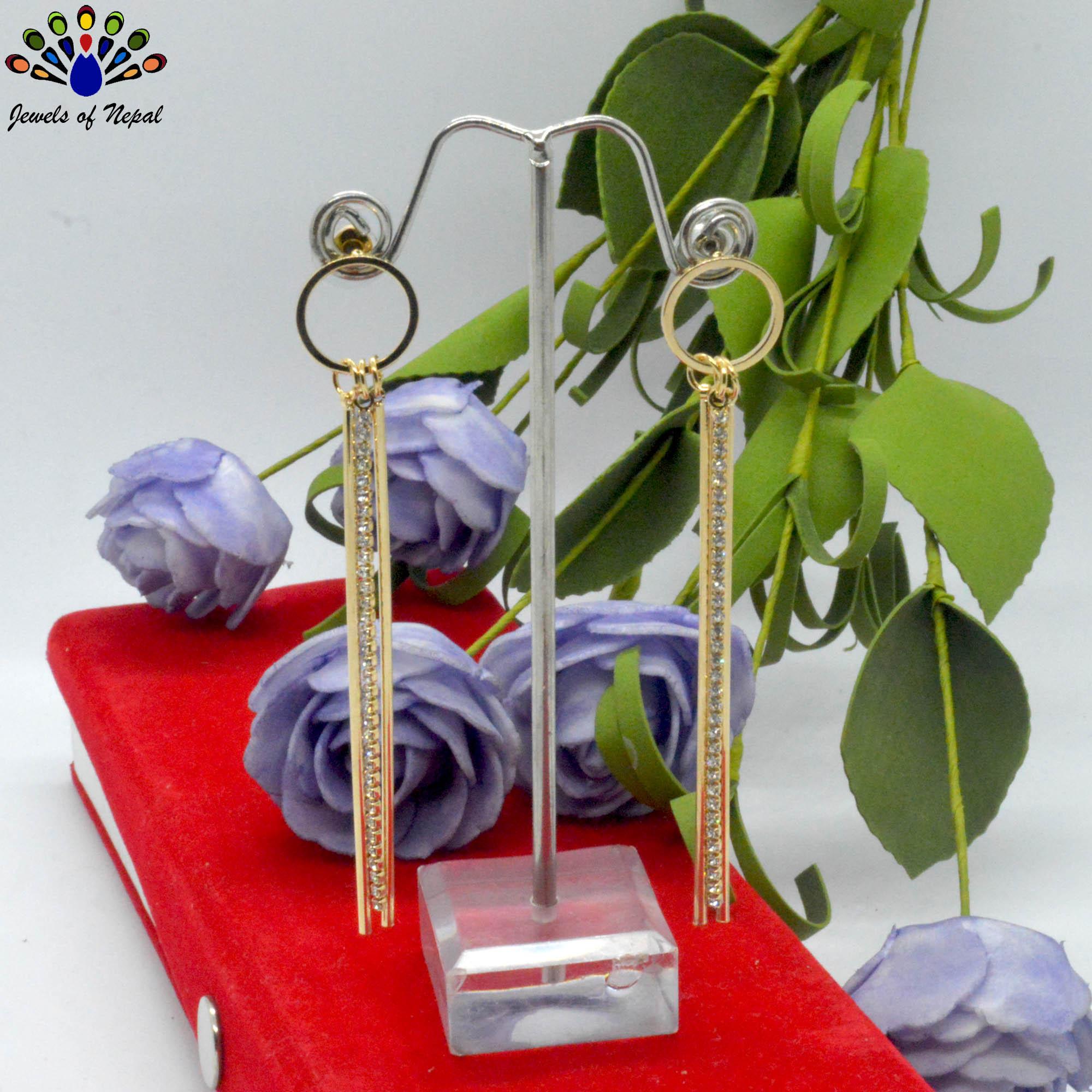 Golden/Silver Toned Stone Chai...