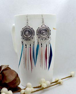 Boho Style Silver Tribal Desig...
