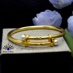 24K Gold Plated Faux Moti Ador...
