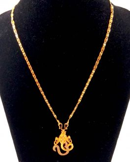 Gold Plated Cz Stone Studded G...