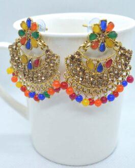 Golden/Multicolored Small Chan...