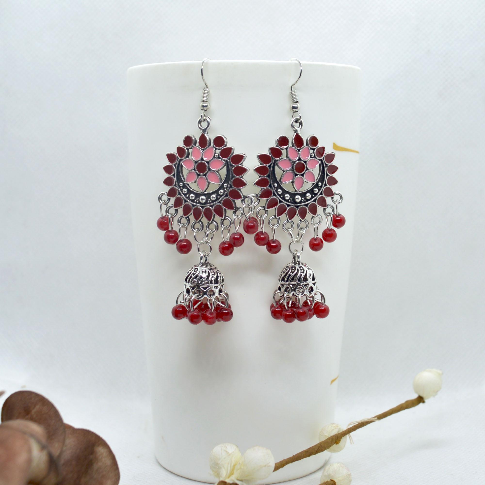 Ethnic Style Chandbaali Design...