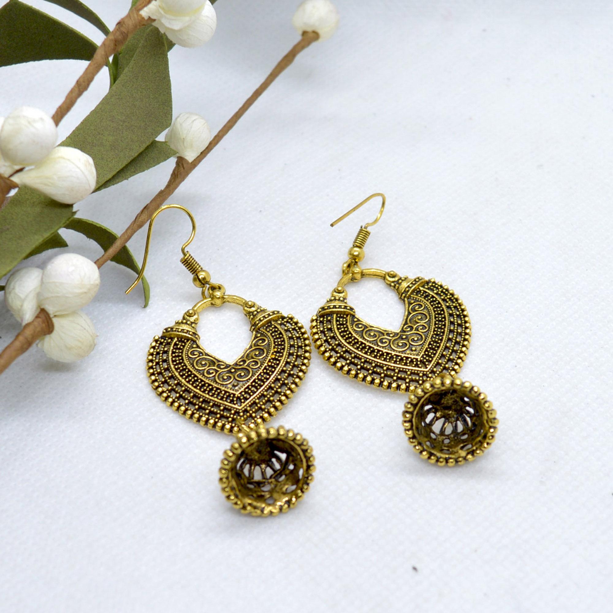 Absract Design Drop Earrings F...