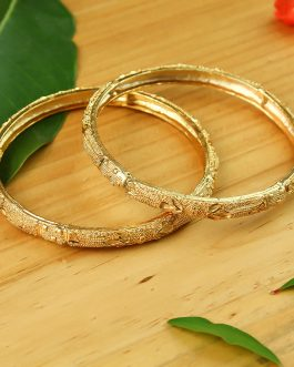 24K Gold Plated Abstract Desig...