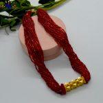 Gold Plated Tilahari Beaded Potey For Women