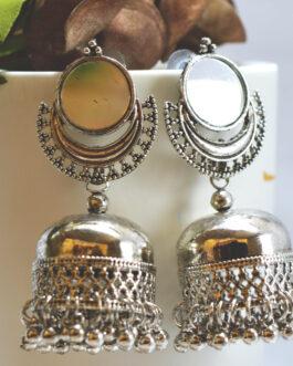Chandbali Mirror Studded Top P...
