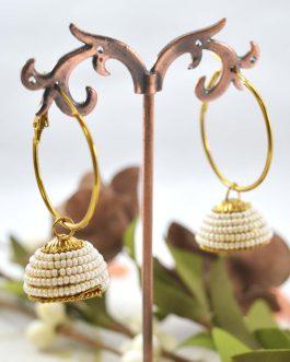 Beaded Loop Pinjada Earrings F...