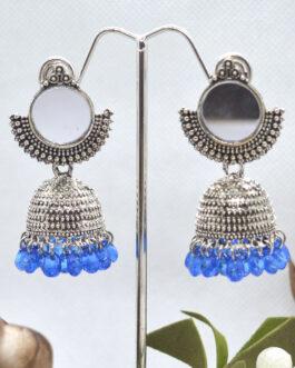 Mirror Adorned Round Stylish T...