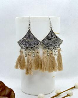 Silver/Multicolored Tribal Pat...