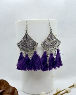 Silver/Multicolored Tribal Pat...